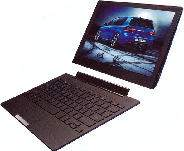 Pioneer Computers Hybrid Ultrabook/Tablet.